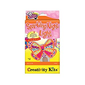 Click to buy Butterfly Crafts for Kids:  Sparkling Night Light from Amazon!
