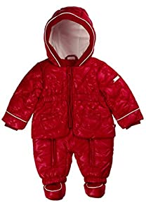 Kanz - Traje para la nieve de manga larga con capucha para bebé