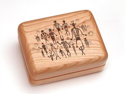 "3X4"" Box With Money Clip/Pocket Knife - Petroglyphs"