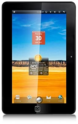 Ematic 10 Inch Touch Screen Internet Tablet with Android 2.2