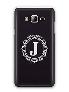 YuBingo Monogram with Beautifully Written letter J Mobile Case Back Cover for Samsung On5