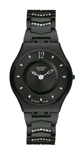 Swatch Cristal Row Black Watch SFB139AG