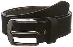 Covo Black Leather Men's Casual Belt (BJ40MB10032)