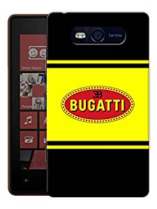 """Humor Gang Supercar Printed Designer Mobile Back Cover For """"Nokia Lumia 820"""" (3D, Matte, Premium Quality Snap On Case)"""