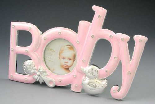 Baby Girl Silver Plated Photo Frame