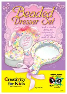 Creativity for Kids Beaded Dresser Set