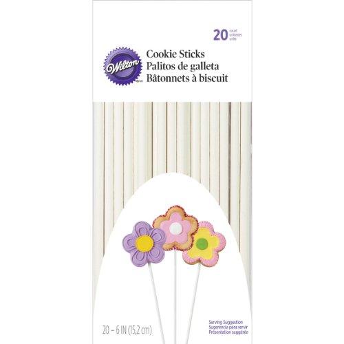 Wilton Cookie Sticks, 20-Count, 6-Inch