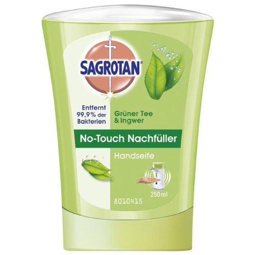Sagrotan NoTouch Nachfüller Grüner Tee & Ingwer, 5 x 250 ml