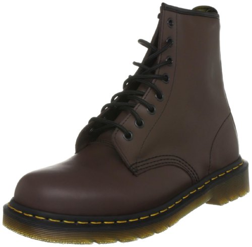 Dr. Martens Unisex 1460 Smooth Brown Lace Up Boot 10072210 7 UK