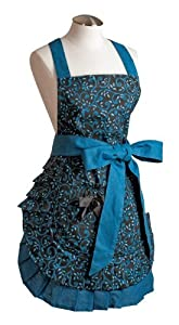 Spicy Aprons Midnight Aqua from Spicy Aprons Inc.