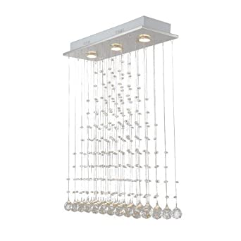 plafonnier lampe en cristal applique murale lumineuse suspension