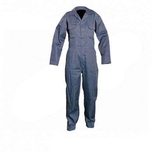Silverline 983750 Tuta da lavoro, blu scuro, L, 128 cm