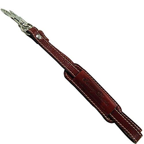 Tuscany Leather Tracolla in pelle regolabile per cartelle Rosso Accessori in pelle ufficio