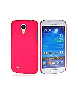 Rubberized Back Cover Made For Samsung Galaxy S4-Dark Pink