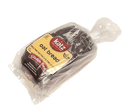Katz Gluten Free Oat Bread, 21 Ounce, Certified Gluten Free - Kosher - Dairy, Soy, Corn & Nut free - (Pack of 6)