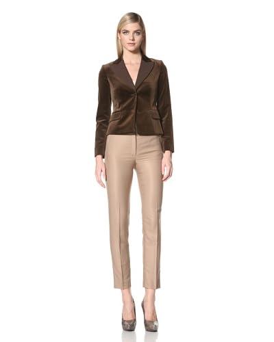 Alberta Ferretti Women's Velvet Blazer