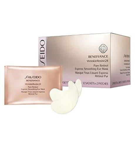 ShiseidoBenefiance Wrinkleresist24 Puro Retinolo Esprimere Levigante Maschera Per Gli Occhi (Confezione da 2)