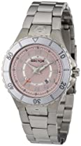 Sector 175 Series Pink Dial Stainless Steel Womens Watch 3253111575