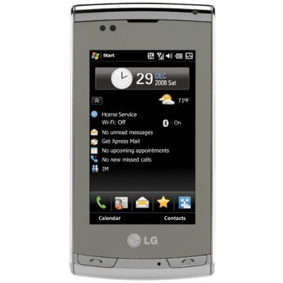 LG Incite CT810 Quadband Unlocked Phone with Touch Screen, GPS, WiFi and 3MP Camera – Unlocked Phone – US Warranty – Silver