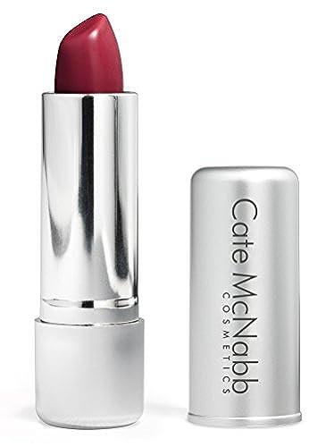Cate McNabb Cosmetics Natural Long Lasting Lipstick, Cosmopolitan, 0.16 Oz