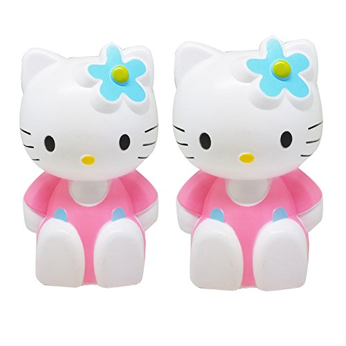 Tuelip Combo Of Two Cute Flower Lady Hello Kitty Piggy Bank