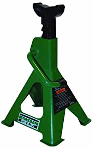 Maasdam MPL4117 Jack Stand Pair, 2 Ton Weighing Capacity, Green
