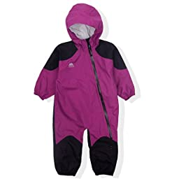 Molehill Girls 2.5 Layer Rainsuit, Berry, 3/9 mos
