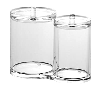 US Acrylic Cotton Ball and Swab Holder