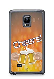 YuBingo Cheers with Friends Mobile Case Back Cover for Samsung Galaxy Note 4 Edge