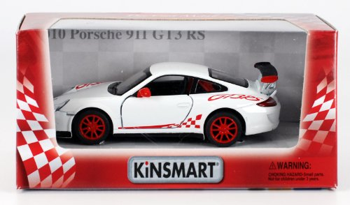 2010 Porsche 911 GT3 RS 1:36 Scale (White)