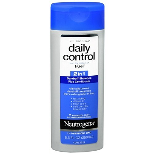 Neutrogena T Gel Daily Control 2-In-1 Dandruff Shampoo Plus Conditioner 8.5Oz (Pack Of 6) front-59499