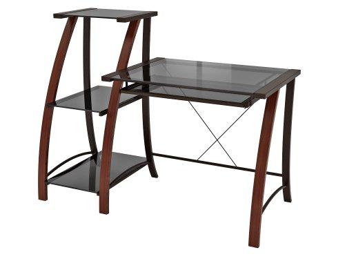 Z-Line Designs Triana Desk & Bookcase, Black