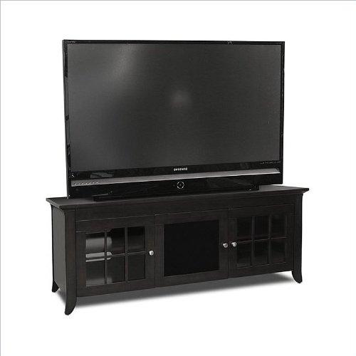 TechCraft CRE60B 60-Inch Wide Flat Panel TV Credenza - Black