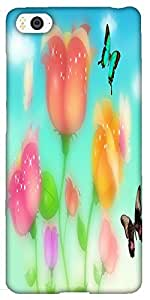 Snoogg Sparkling Roses And Butterflies 2700 Designer Protective Back Case Cov...