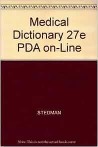 Dictionary medical stedman