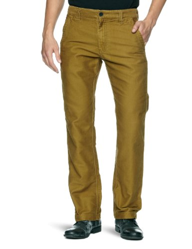 Timberland Brushed Lynnwood Chino Straight Men's Trousers Breen W31INxL34IN