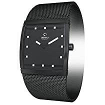 Obaku Harmony Womens Watch - Black Band / Black Face - V102LBBMBS-026