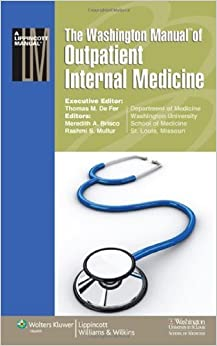 Washington manual of outpatient internal medicine free download pdf