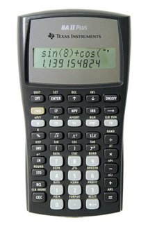 TEXAS INSTRUMENTS, TI BA II Plus Financial Calculator (Catalog Category: Calculators Business & Finance)