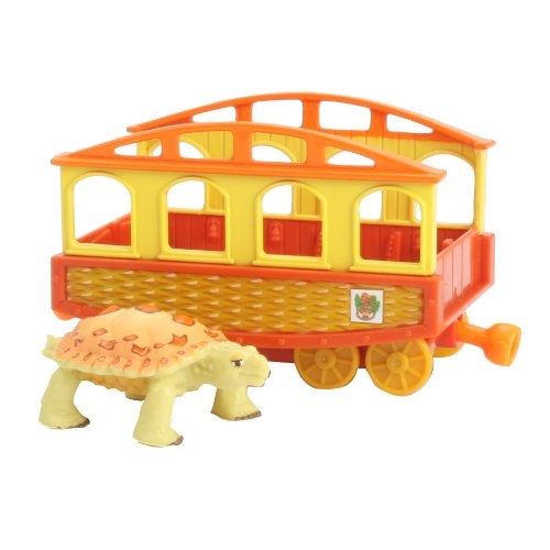 Dinosaur Train Collectible Dinosaur With Train Car - My Friends Have Armor: Pauline - 1