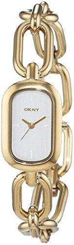 DKNY donna-Orologio da polso al quarzo in acciaio inox NY2311