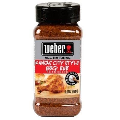 Weber Kansas City Style BBQ Rub 10 Oz