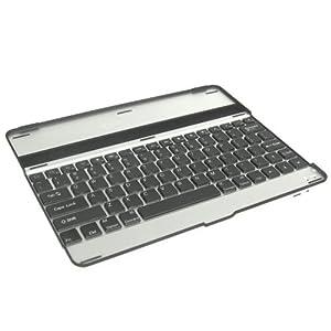 【iPad2】Fu-shine キーボードケースBlack×Black 日本語説明書付 Stylish aluminum material