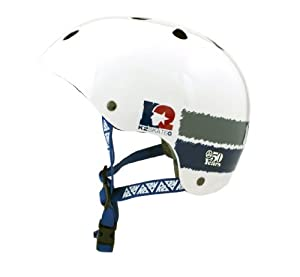 K2 Sports 50Th Anniversary Helmet (White/Blue/Grey, 50-54 cm)