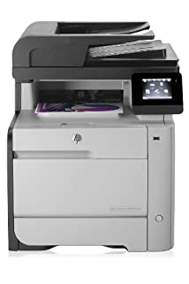 HP M476nw LaserJet Pro Wireless Color Laser Multifunction Printer with Scanner / Copier / Fax (CF385A#BGJ)