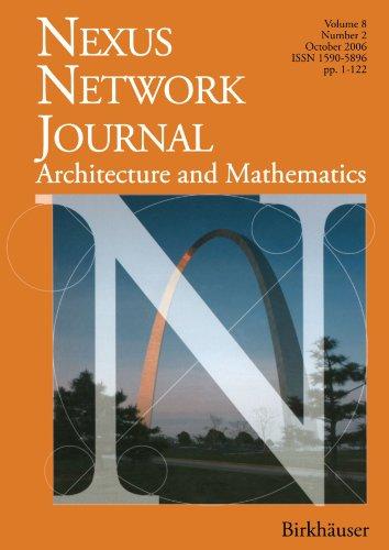Nexus Network Journal 8,2: Architecture and MathematicsFrom Brand: Birkhäuser
