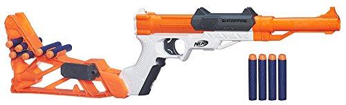 Nerf Elite - Lanzadardos Sharpfire (Hasbro A9315EU4)