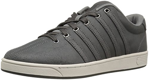 K-Swiss Men's Court Pro II C CMF Fashion Sneaker, Charcoal/Beluga, 10 M US