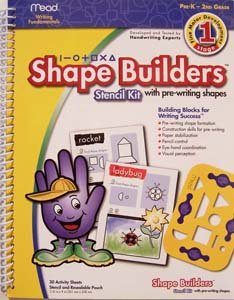 Shape Builders Stencil Set