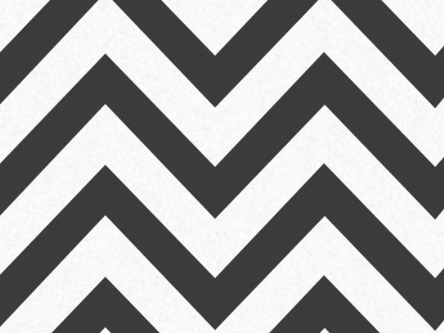 "Black & White Chevron Stripe Zig Zag Tissue Paper - 20"" X 30"" - 48 Xl Sheets front-484335"